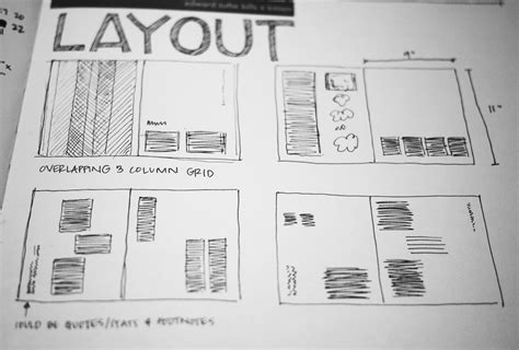 definition layout page the grid system building a solid design layout