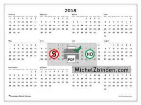 Calendar 2018 Printers 2018 Printable Calendar Quot Gregorius M Quot