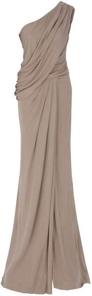 greek draped dress 25 best ideas about one shoulder dresses on pinterest