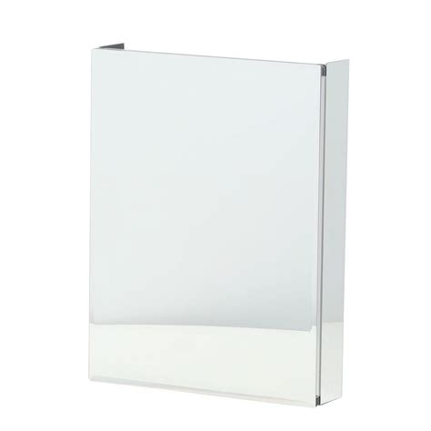 mirrorless surface mount medicine cabinet pegasus 20 in x 26 in recessed or surface mount bathroom