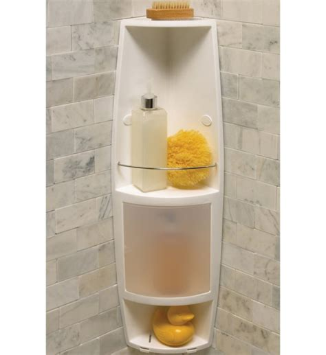Bath And Shower Accessories Corner Shower Caddy In Shower Caddies