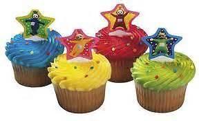 teletubbies cupcake decoration party cake birthday favors tinky windy laa laa 12 ebay