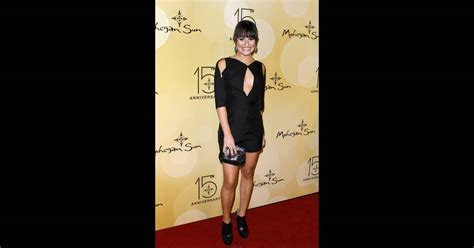 sun l for people lea michele 224 l after party du concert de jennifer lopez