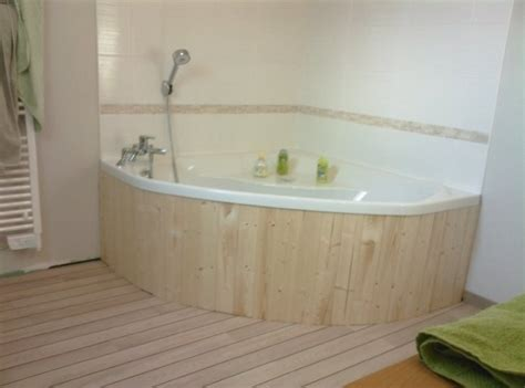 fabriquer une baignoire habillage baignoire d angle paodom net