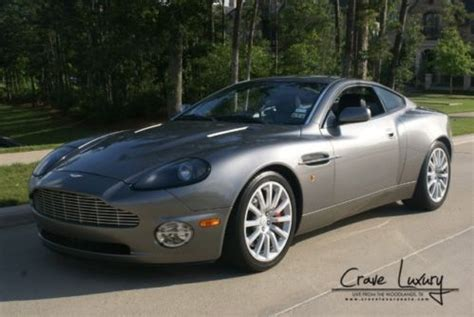 Buy Used Aston Martin by Buy Used Aston Martin Vanquish V12 Loaded Leather Fast Buy