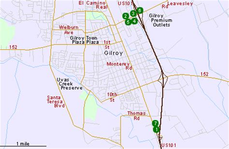 california map gilroy hotels in gilroy ca central california hotels