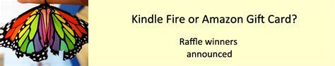 Amazon Kindle Fire Gift Card - raffle announcement genecopoeia