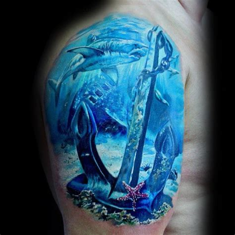 40 seestern tattoos f 252 r m 228 nner meeresbewohner designs