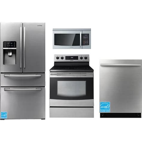 complete kitchen appliance packages samsung rf4267hars stainless steel complete kitchen