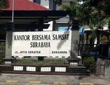 alamat kantor samsat surabaya  pembagian wilayah samsat
