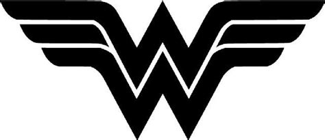 Super Hero Wall Stickers wonder woman logo die cut vinyl sticker decal sticky
