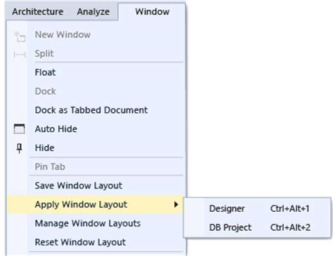 customizing ui layout in the visual editor customize window layouts in visual studio visual studio