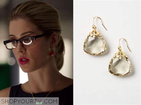 arrow season 4 episode 7 felicity s drop earrings