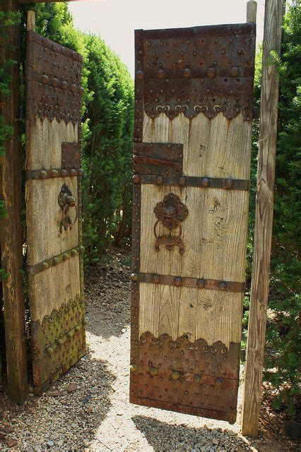 104 best wooden gates images on pinterest