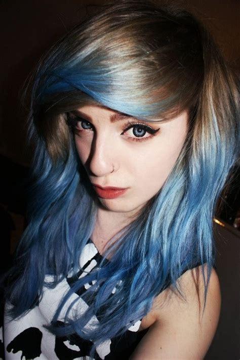 hairstyles brown hair blue eyes easyhairstyles dipdye hairstyles easy hairstyles