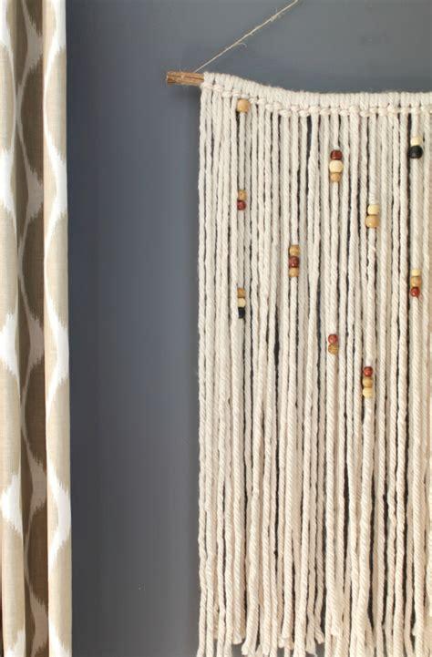 Paper Macrame - diy macrame wall hanging