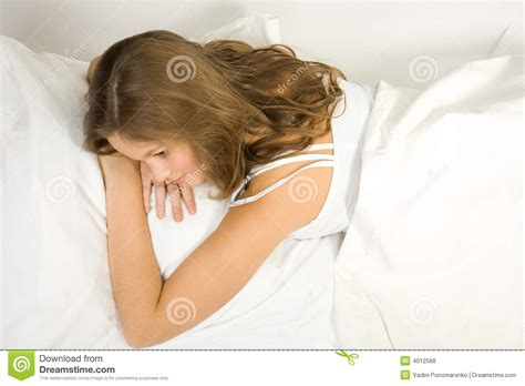 lie in bed royalty free stock photos image