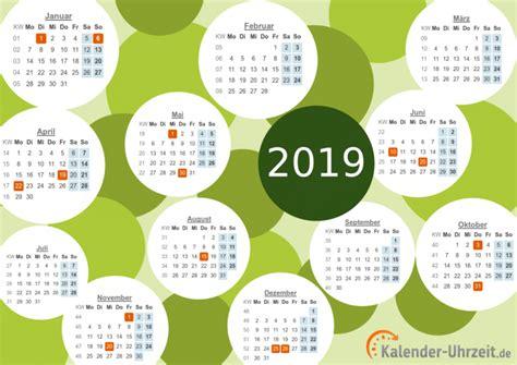 Kalender Uhrzeit 2018 Kalender 2019 Zum Ausdrucken Freeware De