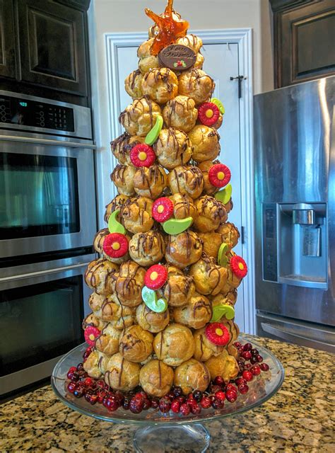 collection croquembouche christmas tree pictures home