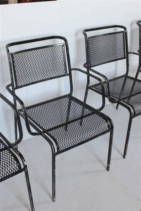 Garden Armchairs Sale by Mid Century Garden Metal Armchairs For Sale At 1stdibs