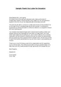 sle thank you letter for donation hashdoc