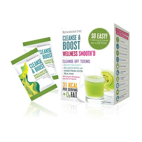 Detox Smoothie Sachets by Wellness Smooth D Cleanse Boost