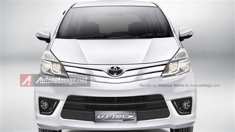 Lu Led Toyota Avanza 2015 toyota avanza facelift prediction by autonetmagz