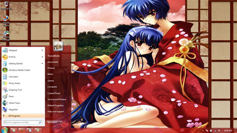 download themes for windows 7 girl anime girls 30 windows 7 theme by windowsthemes on deviantart
