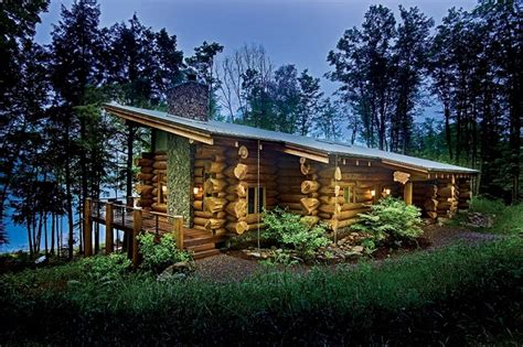 modern log home plans one couple creates a vacation retreat that is the perfect