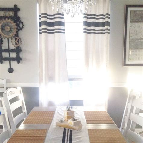 farm curtains best 25 striped curtains ideas on pinterest country