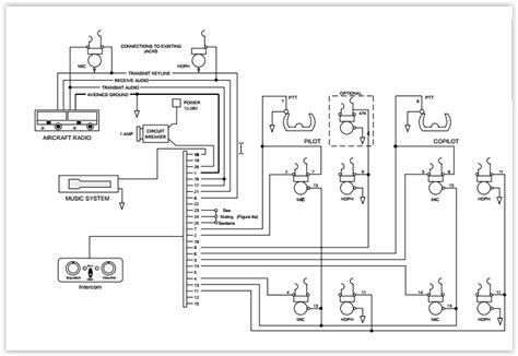 aircraft intercom wiring diagram wiring diagram 2018