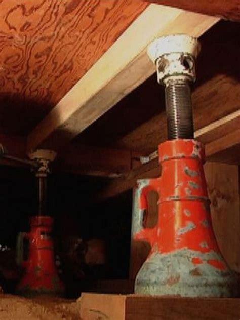 Repair Sagging 1000 images about diy repair sagging floors on