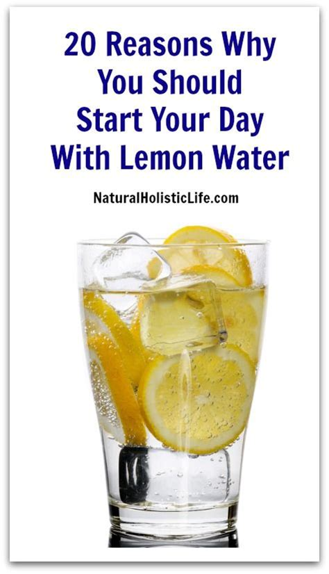 Lemon And Water Detox Diet by 20 Reasons Why You Should Start Your Day With Lemon Water
