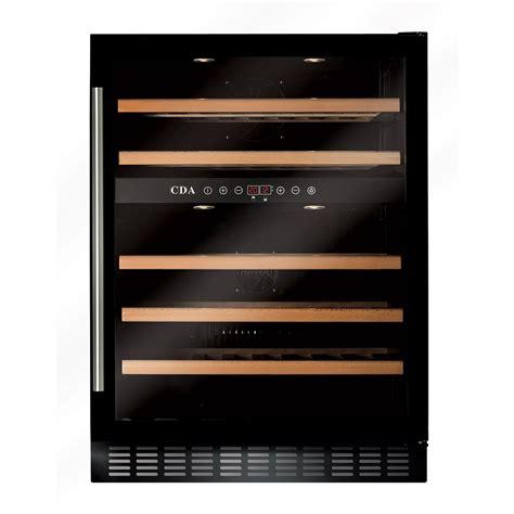under cabinet wine cooler fwc603bl freestanding under counter wine cooler cda