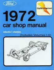 service manual download car manuals pdf free 1972 ford mustang on board diagnostic system