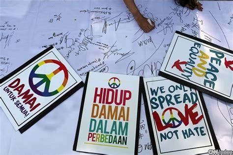 Kaos Perdamaian satu harapan hari perdamaian internasional