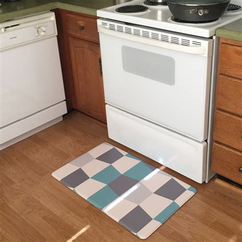 Kitchen Standing Mat by Art3d Premium Reversible Cushion Kitchen Mat Anti Fatigue