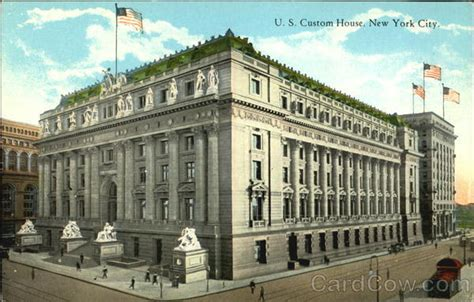 new york customs house u s custom house new york ny
