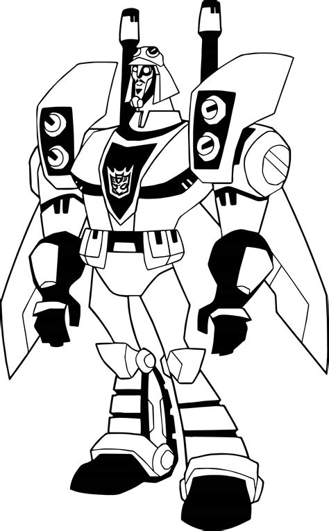 comic transformers coloring page wecoloringpage