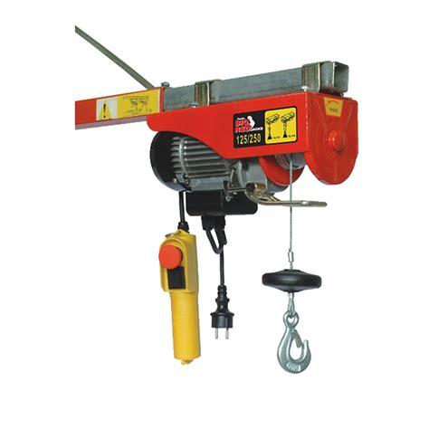 electric hoist trh1002 ptr machinery