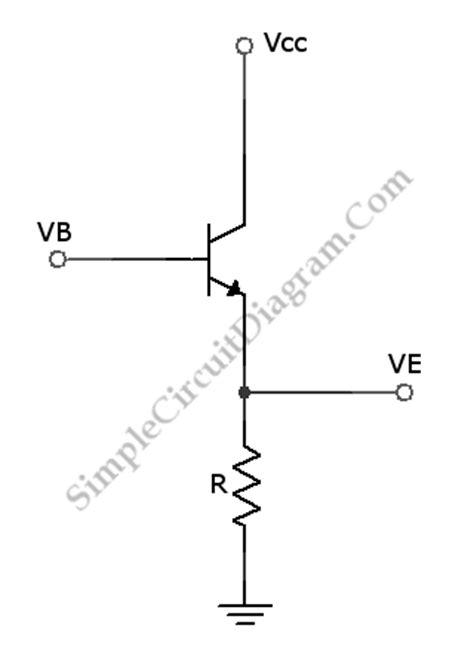transistor lifier emitter follower transistor lifier emitter follower simple circuit diagram