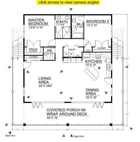 beach cottage floor plans casita ideas on pinterest floor plans small house plans