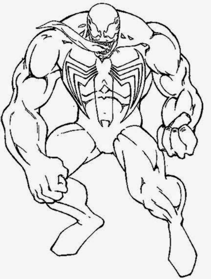 venom coloring free coloring pages art coloring pages