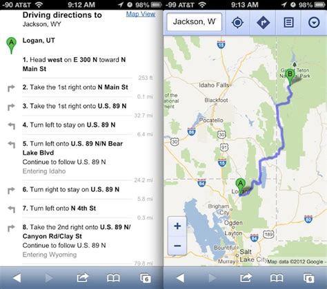 how to use maps on ios 6 right now