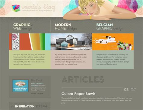 beautiful blog design beautiful design of the week veerle s blog marstudio blog