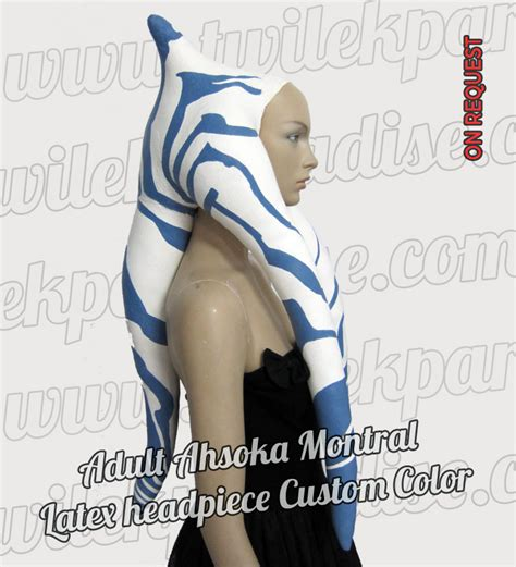 latex lekku tutorial adult ahsoka montral twilek paradise