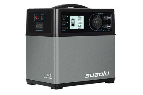 suaoki 400wh solar generator review