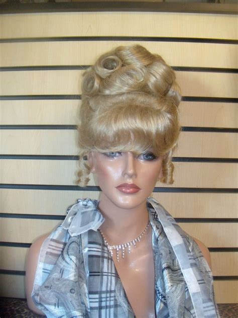 blonde curly partial up do spicy girl wig ebay disney updo wigs cinderella soft perfect curls ringlets