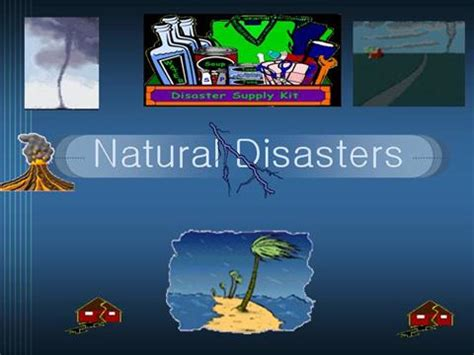 Natural Disasters Authorstream Disaster Powerpoint Templates Free