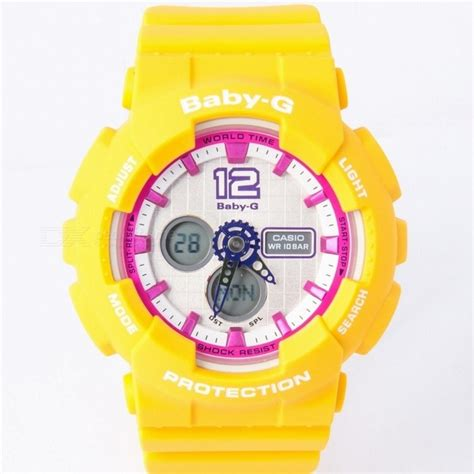 Casio Baby G Original Ba 120 9bdr casio baby g ba 120 9bdr yellow free shipping